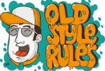 tees / Old Style Rule! The first tshirt inspired by the old style graffitti