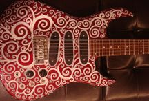 Custom Painted Instruments