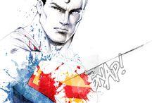 Superheroes / Superheroes stuff.