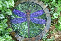 Mosaics - in and out / DIY Mosaic ideas to Interieur and outside project