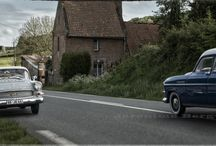 Cars in Normandy. / scale car photography