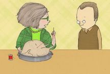 Mrs. Bobbins / Quilting cartoons about Mrs. bobbins. / by Kathy Parks