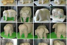 Elefánt torta lépésről lépésre
