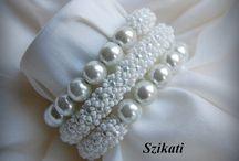 Alta moda di perline