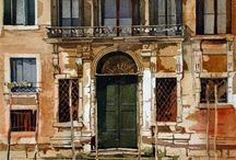 Watercolour Paintings of Venice / Watercolour paintings of Venice that I've found (watercolor)