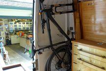 Van: bike storage