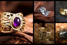 Wedding and Engagement Rings / David's wedding and engagement rings symbolize unity, love, fertility and harmony. It will remind you of the purity of your relationship and your strong love for many days to come.
