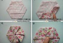 лоскутные оригами