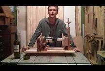 esta maquina é a mais facil de construir para cortes de garrafas