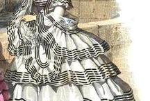 Victorian Fashion 1850-60