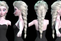 3D - Female Characters