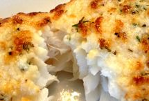 Fish / Parmesan crusted fish