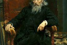 portrety malarzy