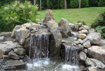 Waterfall and outdoor project ideas