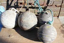 Oud brocante zink / Oud brocante zink, mooi voor decoratie voor binnen en buiten.