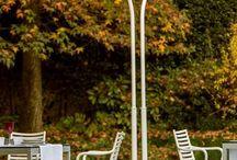Chauffages d'extérieur design / Optez pour un chauffage d'extérieur design pour réchauffer l'atmosphère durant vos soirées conviviales en extérieur tout en décorant votre espace.