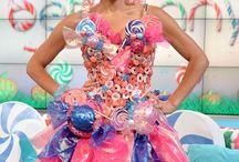 Candy land dress up
