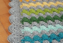 Decken häkeln - crochet blanket