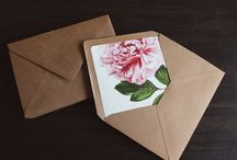 Invitation Inspirations! / Wedding Invitation details and inspiration!