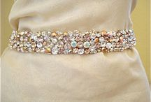 Weddings {Accessories} / Wedding Bridal Accessories, Bridal Belts, Wedding Headbands and Veils.