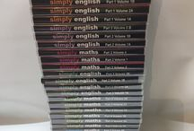 student Study Books And Dvds cds Simply maths Simpley English / Student study,Books/cds/dvds,simply maths/simply english