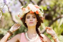 Flower Crowns / Flower crowns are a bohemian necessity. / by ThreadSence