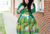 Fabulous Fatties / Plus size ladies who inspire me, or plus size fashion that i just love