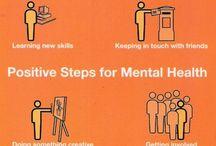Mental health / End the stigma. Let's talk. Reach out.