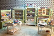 Miniature Bakeries and Baked Goods in 1:12 Scale Miniature