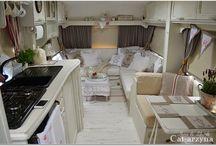 Wohnmobile und Wohnwagen aufgepimpt