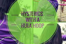 Hula hooping / hula hooping