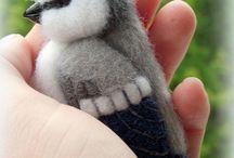 Pájaros de vellón
