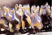 Akvarel: Jean-Guy Dagneau
