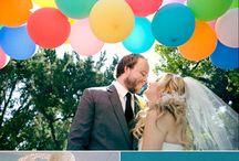 Rainbow wedding theme ideas