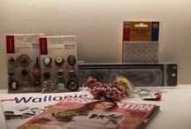 Furnituri / Board cu materialele pe care le folosesc pentru produsele mele, magazine, furnizori, tara de provenienta