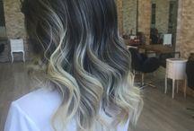Hair / Gri kumral
