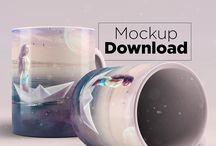 Mockup Freebies / Mockups para tornar os seus trabalhos irresistíveis.