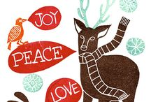 Christmas posters, cutness etc.