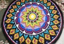 Жаккардовые узоры (коврики). (Jacquard pattern - rugs)