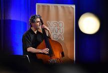 "Renaud Garcia-Fons & Dorantes @ Visioninmusica 2016 / Anthony Strong ""On a clear day"" @ Visioninmusica 2016 in data 26 febbraio 2016 - Auditorium Gazzoli, Terni"