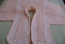 blusa de crochet de bebe