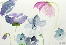 Art - Watercolors / by Gina @ Following Simplicity