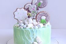 Тортик на День Варенья малыша