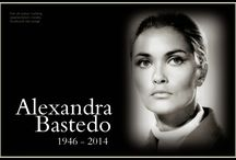 Alexandra Bastedo / Alexandra Lendon Bastedo (9 March 1946 – 12 January 2014) was a British actress, best known for her role as secret agent Sharron Macready in the 1968 British espionage/science fiction adventure series The Champions. She has been cited as a sex symbol of the 1960s and '70s. Alexandra was a vegetarian and animal welfare advocate