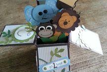 Stampin UP! Baby Karten& Dekorationen