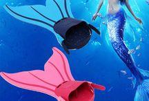 Mermaid stuff / H2O: Just Add Water                 &  Mako Mermaids