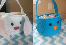 easter baskets and things