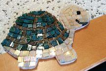 i miei mosaici / mosaici fatti da me