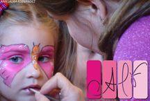 Maquillatge nenes carnestoltes