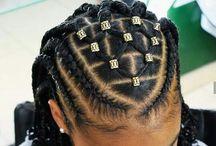 Kids hairstyles natural hair